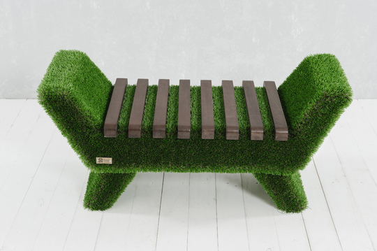 Barocco bench, dark